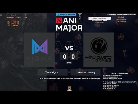 [RU] WePlay AniMajor | Team Nigma vs Invictus Gaming | BO2 @4liver