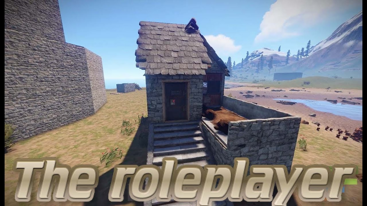 Rust Base Builds Ep 22 The Roleplayer Roof Stacking Post
