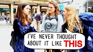 VEGAN DEBATES WITH MEAT EATERS ON THE STREET [Part 1]