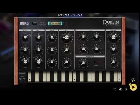 画像2: 04 07 ベースの音を決める バレッドプレス KORG Gadget for Nintendo Switch講座 www.youtube.com
