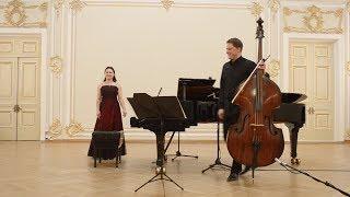 Giovanni Battista Pergolesi - Sinfonia for Double bass and Piano (1730-36)