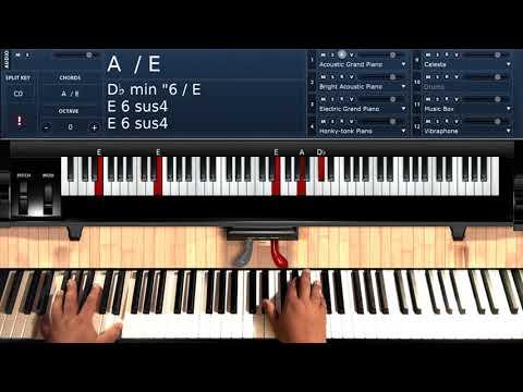 Too High (by Stevie Wonder) - Piano Tutorial