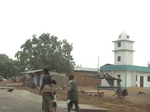 Driving Thru Paga - Upper East Region, Ghana