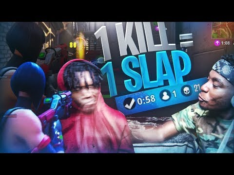 1 KILL = 1 SLAP TO THE FACE FORTNITE w/ SAVAGE FRIEND! FORTNITE BATTLE ROYALE GONE WRONG?