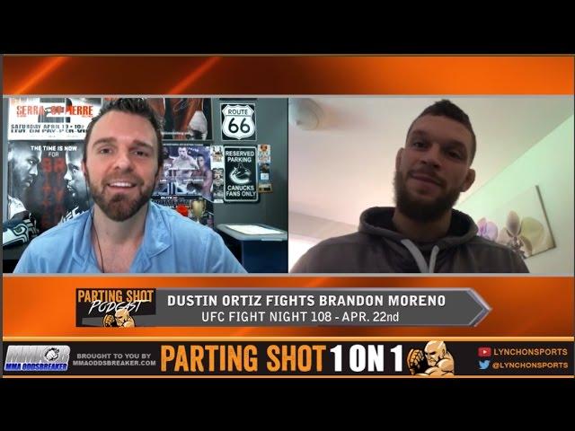 UFN 108's Dustin Ortiz talks Brandon Moreno, why he left Roufusport & Great Outdoors