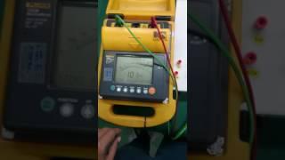 FLUKE 1550B MegOhmMeter Repaired by Dynamics Circuit (S) Pte. Ltd.