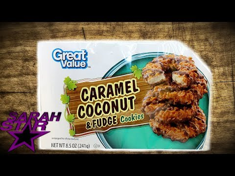 Great Value Caramel Coconut and Fudge Cookies