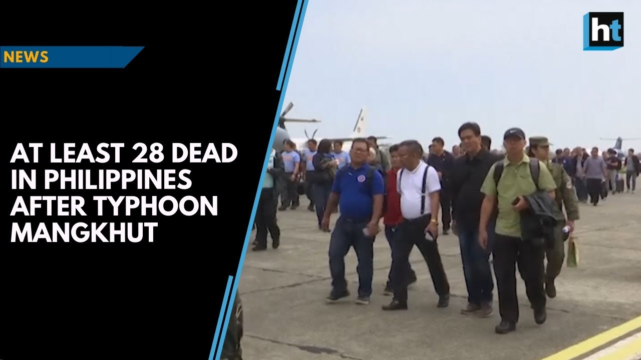 At least 28 dead in Philippines after Typhoon Mangkhut