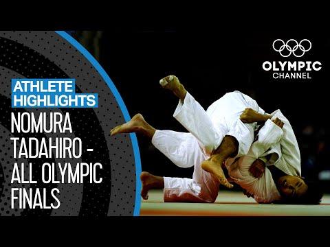 nomura-tadahiro-🇯🇵---triple-gold-medallist-in-judo!-|-athlete-highlights