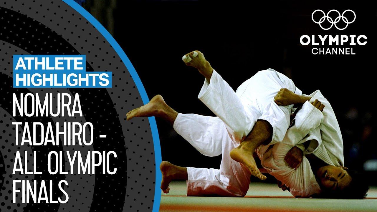 Nomura Tadahiro 🇯🇵  - Triple Gold Medallist in Judo! | Athlete Highlights