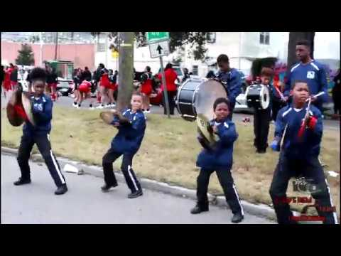 Lafayette Acacdemy Marching Band @ MLK School Parade (2018)