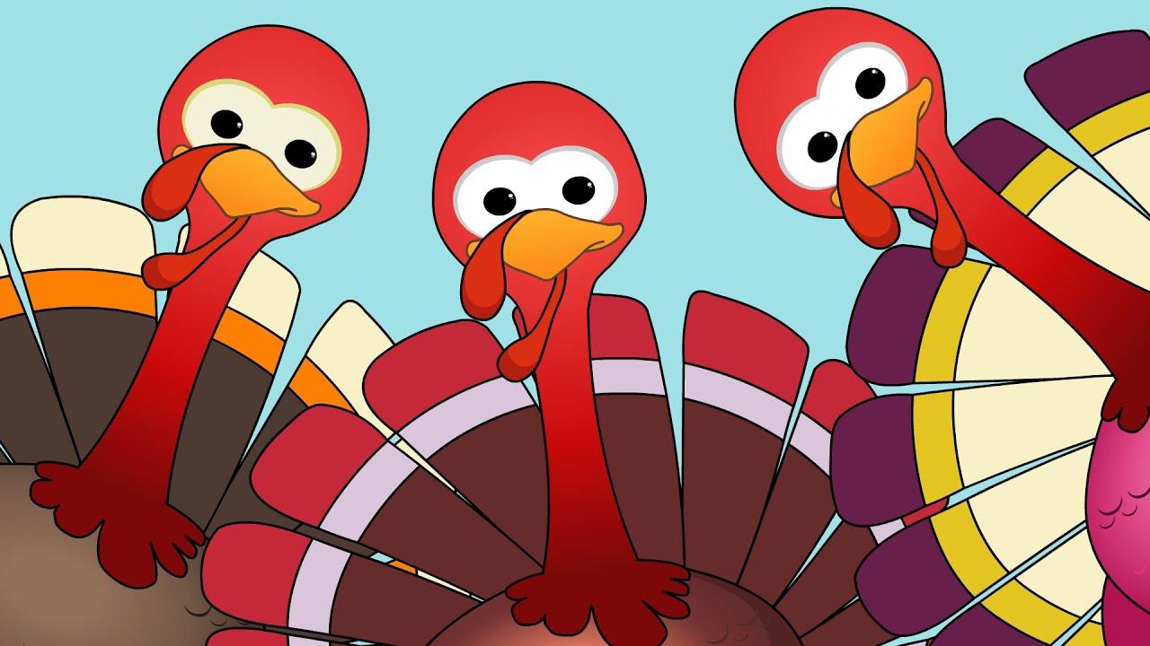 turkeys turkey song happy giving youtube