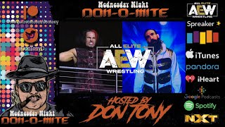 EP 26 Wednesday Night Don-O-Mite WED 03/18/2020 Broken Matt Hardy AND Brodie Lee Make AEW Debuts!