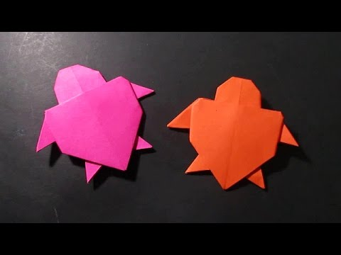 Origami Turtle - How To Make Origami Turtle Easy