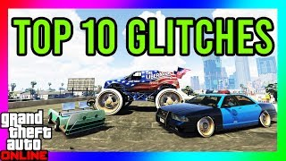 GTA 5 - TOP 10 GLITCHES!! (Secret Club Glitch, Custom Cop Car, GodMode Glitch) *ALL CONSOLES*