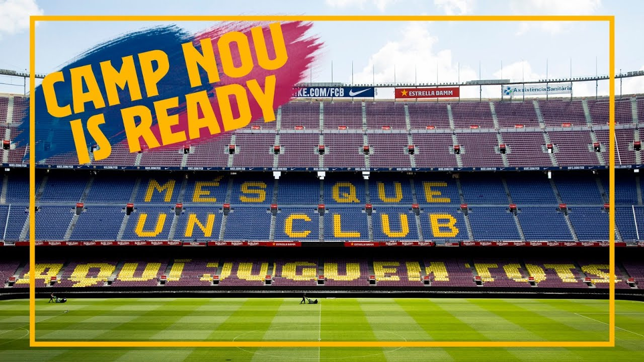 Matchday! Camp Nou FINALLY reopens ?