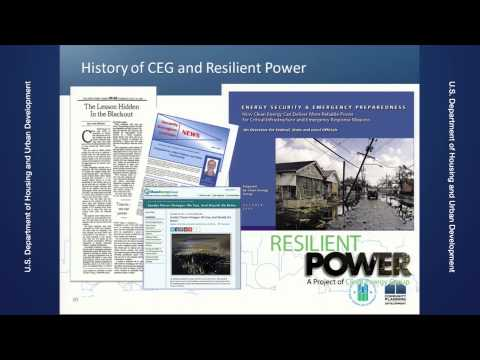 Energy Investments for Disaster Resilience