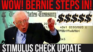 WHAT BERNIE JUST SAYED! $1.1B student loans forgiven, 4th stimulus check + mortgage forbearance thumbnail