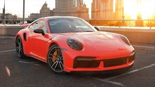 2,2 секунды до сотни. Новый Porsche 911 Turbo S 992