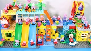 Peppa Pig Lego House Toys For Kids - Lego House With Water Slide Creations Toys #13