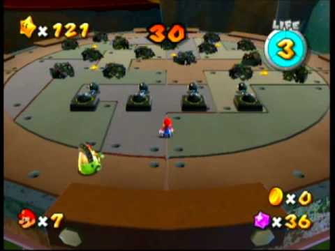Super Mario Galaxy - Battlerock's Garbage Dump