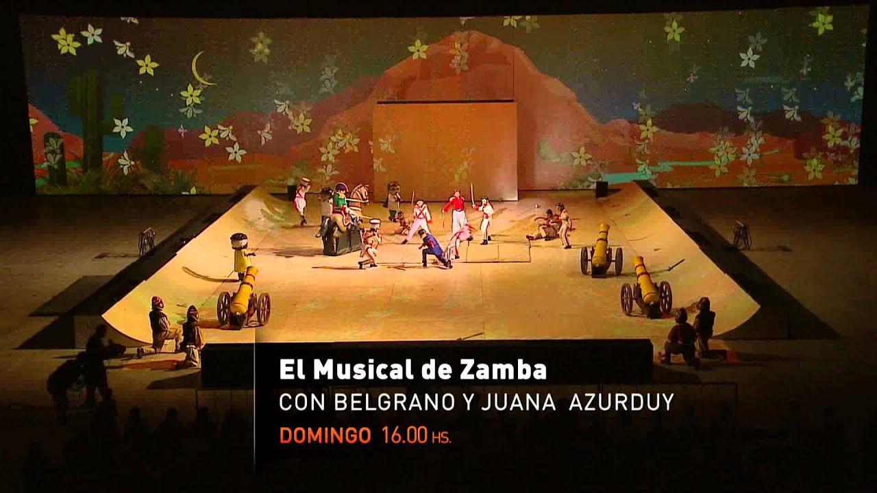 Adelanto el asombroso musical de zamba 21 12 14 youtube for El asombroso espectaculo zamba