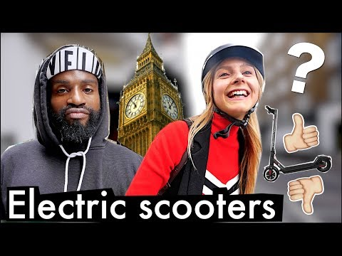 🇬🇧 WHAT DO PEOPLE THINK OF ELECTRIC SCOOTERS? 🛴(London)