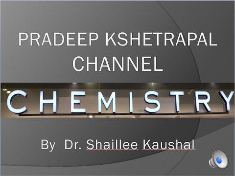 CHXI-4-06 Valance bond approach of covalent bonds(2016) Pradeep Kshetrapal Physics channel