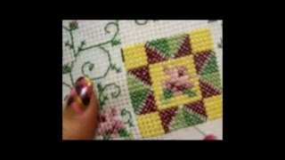 Counted Cross Stitch Part Five - Completing The Design