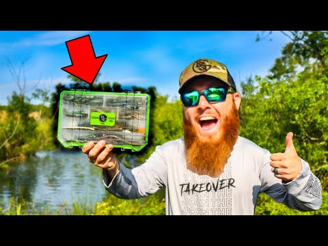 ULTIMATE Pond Fishing Tackle Box (Bank Fishing)