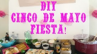DIY Cinco De Mayo Fiesta | Taco Party | Nikki Stixx