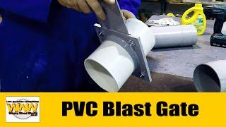 Pvc Dust Extractor Blast Gate - Wacky Wood Works