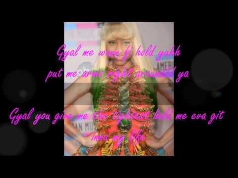 Mohombi feat. Nicki Minaj & Gyptian - Hold yuh w/Lyrics ★