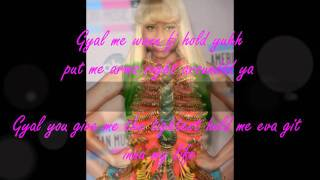 Mohombi feat. Nicki Minaj & Gyptian - Hold yuh w/Lyrics ★