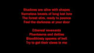 Creature Feature-It Was a Dark and Stormy Night Lyrics