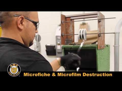Microfiche & Microfilm Destruction
