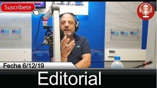 Editorial de Baby Etchecopar - 6/12/19