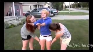 ВидеоПриколы. Пьяные блондинки. Ржачные приколы.