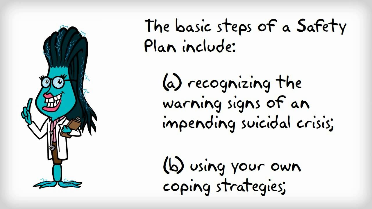 About Suicide Safety Plans - YouTube