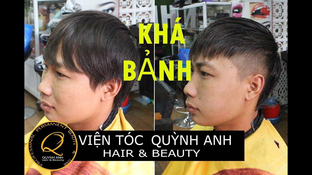 Hướng dẫn cắt tóc nam  kiểu 'KHÁ BẢNH' - SƠN TÙNG .VTQA - cắt tóc nam.