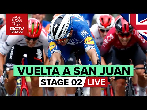 FULL REPLAY: Vuelta A San Juan 2020 Stage 2 - Pocito Sprint Finish