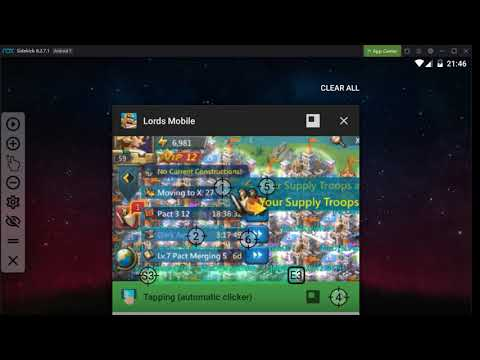 Tapping Autoclicker - Lords Mobile 2