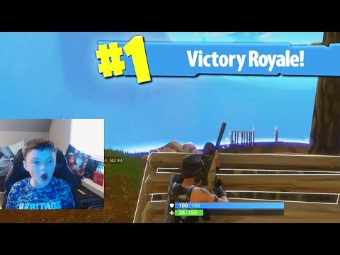 MY FIRST SOLO WIN! - Fortnite Battle Royale Solo Victory Royale!