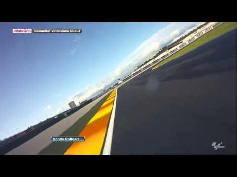 Valencia - Honda OnBoard