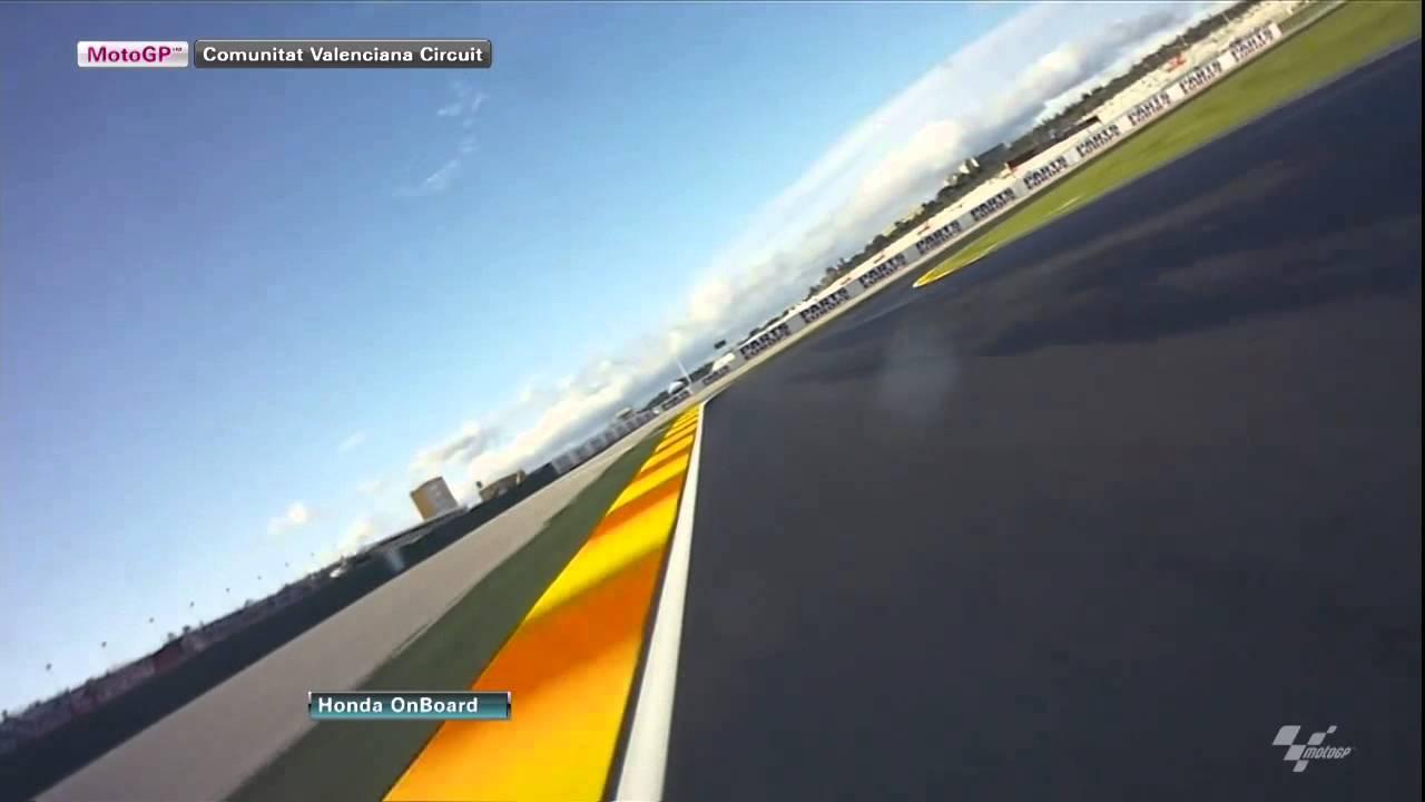 Valencia - Honda OnBoard - YouTube