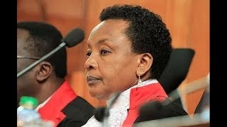 Deputy Chief Justice Philomena Mbete Mwilu arrested at the Supreme Court