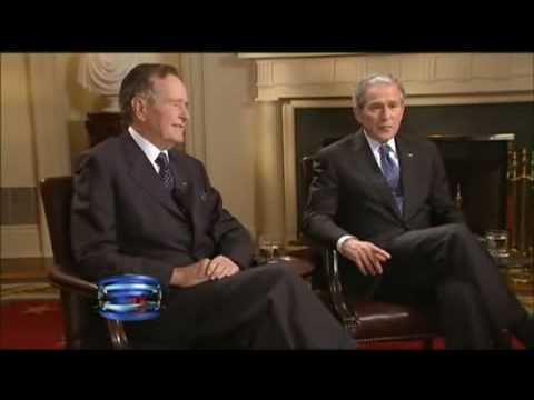 First joint interview of 41st and 43rd presidents - Father and Son P - 1