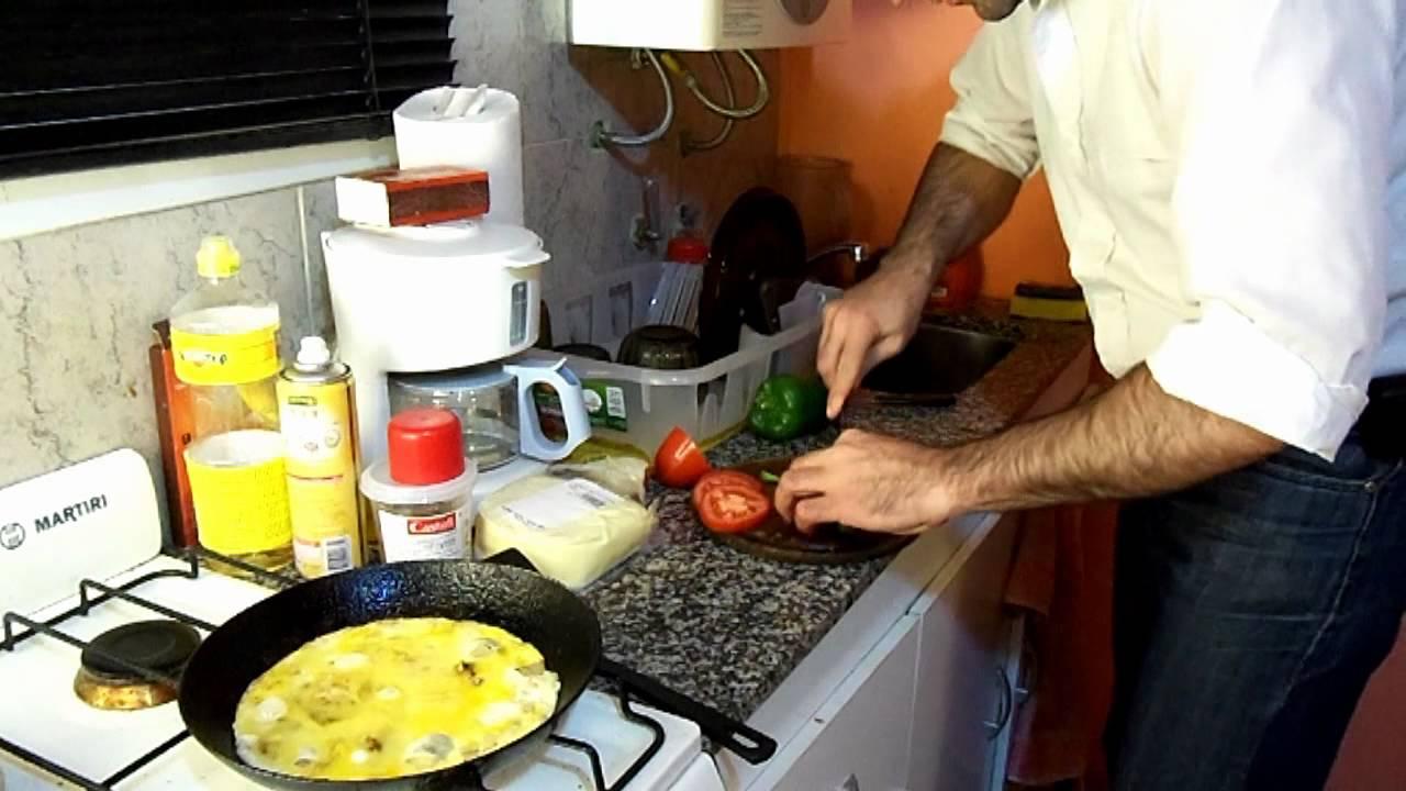 Como cocinar un omelette viyoutube for Como cocinar un bogavante