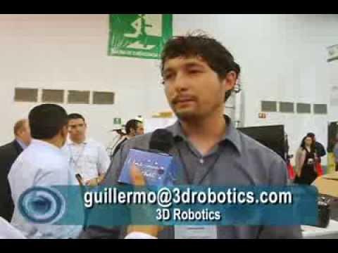 ENTREVISTA A GUILLERMO ROMERO GTE. GRAL.  DE 3D ROBOTICS