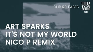 DHB024 - Art Sparks - It's Not My World (Nico P Remix)